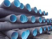双壁波纹PE排水管材